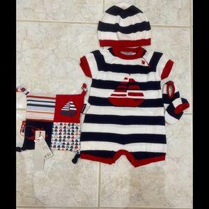 Boboli Baby Gift Set for Boys 4 Pc. 6 months